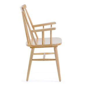 Chaise en bois avec accoudoir achat vente pas cher for Chaise bois avec accoudoir pas cher