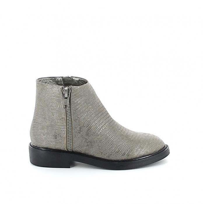 Low-boots texturée - Noir cABpVEk5G