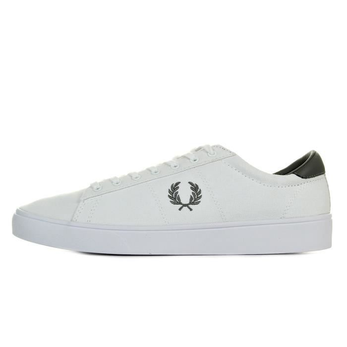 Baskets Fred Perry Spencer Canvas White