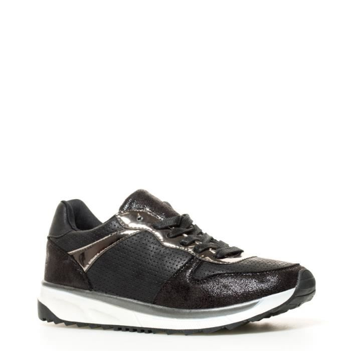 Sonnax - Chaussures noires Craked