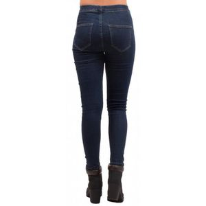 318005dfd5 Jegging femme forme jean taille haute élastique coloris brut-38 Brut -  Achat / Vente jeans - Soldes d'été Cdiscount