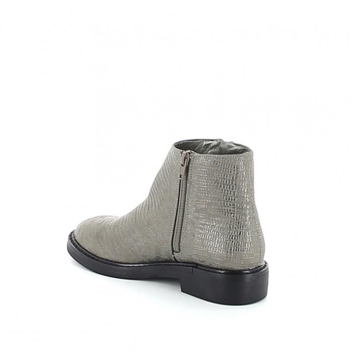 Low-boots texturée - Anthracite
