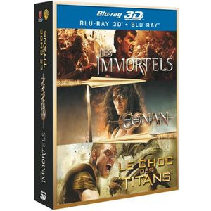 BLU-RAY FILM Coffret BLU-RAY Guerriers 3D : Conan - les immorte