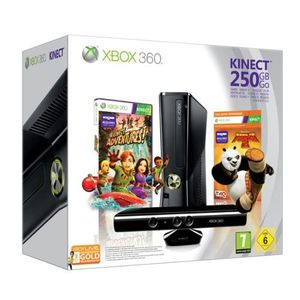 CONSOLE XBOX 360 XBOX360 250Go KINECT+ KUNG FU PANDA 2+ LIVE 3 MOIS