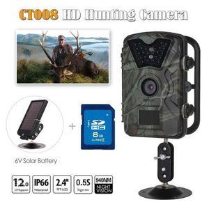 CAMÉRA SPORT 8GB 12MP 1080P Caméra de chasse Camouflage Trail S