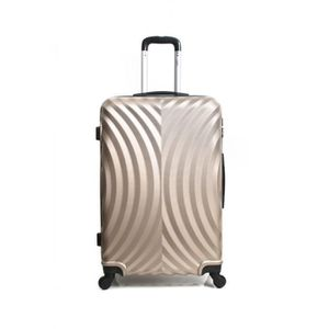 VALISE - BAGAGE Valise Grand Format ABS – Rigide –70 cm LAGOS-CHAM