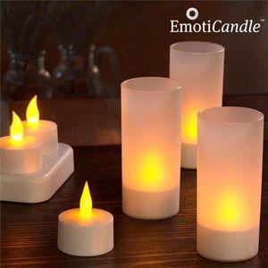 BOUGIE DÉCORATIVE Bougies LED rechargeables EmotiCandle (pack de 6)