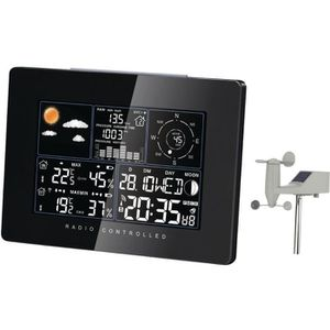 Station meteo anemometre achat vente station meteo - Station meteo avec capteur exterieur sans fil ...