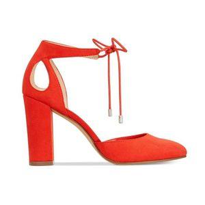 1a8050b4f3b825 Femmes Bar III Sabrina Chaussures À Talons Orange - Achat / Vente ...