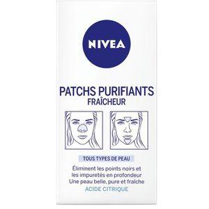 MASQUE VISAGE - PATCH NIVEA Patch Purifiants Fraîcheur - Boîte 4 patchs