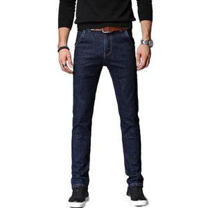 JEANS Jeans Fashion Homme Stretch Slim Fit Effet Délavé