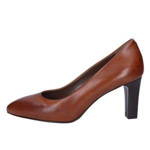 ESCARPIN CALPIERRE Chaussures Femme Escarpin Cuir Marron BX