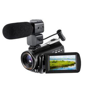 CAMÉSCOPE NUMÉRIQUE Ordro AC-3 4K UHD Caméra Vidéo Numérique Caméscope
