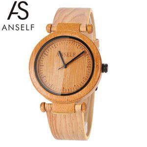 MONTRE Anself Mode Simplicité Unisexe Montre-bracelet en