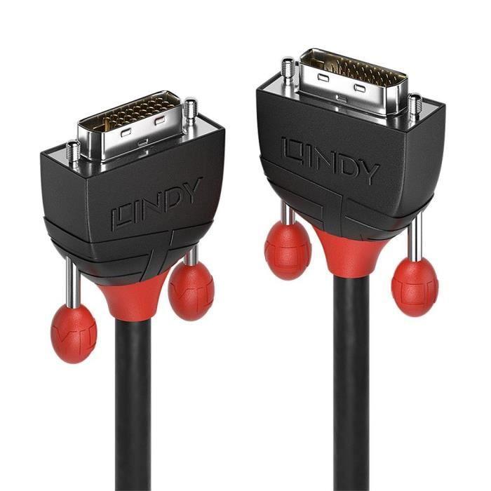 LINDY Câble DVI-D Dual Link - Black Line - 5m
