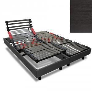 sommier electrique 2x90x200 achat vente pas cher. Black Bedroom Furniture Sets. Home Design Ideas