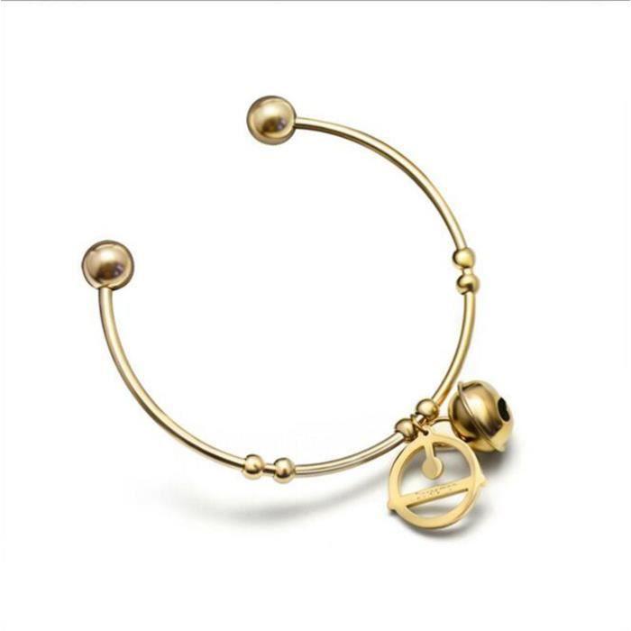 Bracelet Doraemon Machine cat ouverture bracelet géométrique