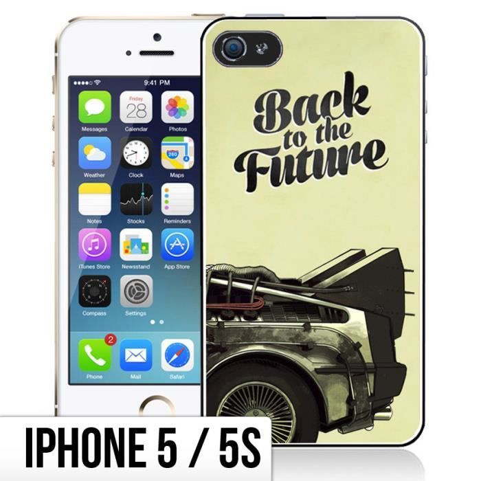 coque iphone 5 back to the futur