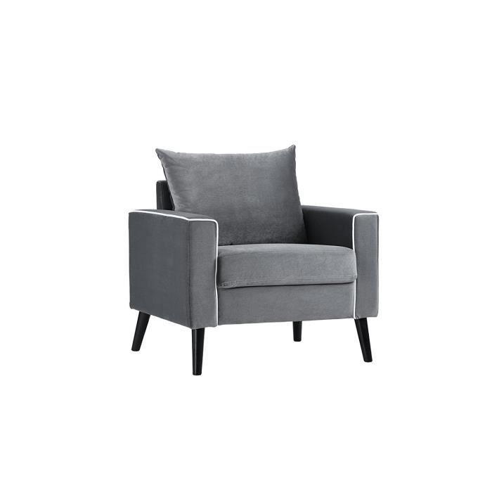 fauteuil moderne contemporain velours gris cou Résultat Supérieur 50 Nouveau Fauteuil Moderne Photographie 2017 Kse4