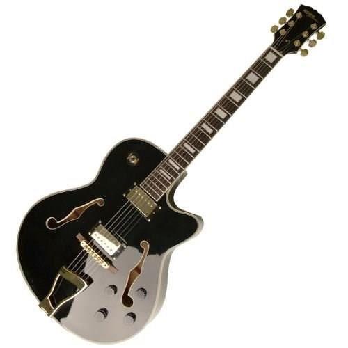 guitare acoustique noir pas cher achat vente guitare. Black Bedroom Furniture Sets. Home Design Ideas