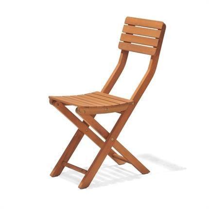 En Kingsbury Chaise 60 Légère Fsc D'eucalyptus X Pliante Bois 56 0vOm8yNnw