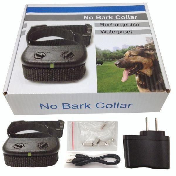 Dotopon® Rechargeable Étanche De Contr?le Anti Barking Dog Choc Électrique Aucune Aboiement