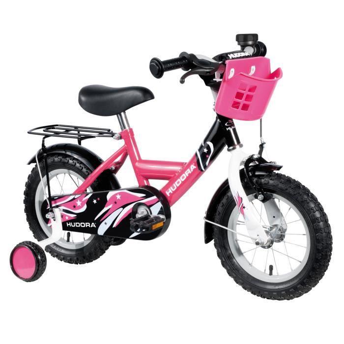 """VÉLO ENFANT HUDORA Vélo Enfant 12"""" Rose"""