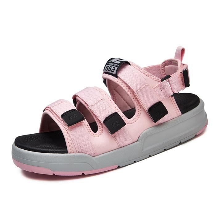 e36aa5552176 Sandales Fille été Chaussures été Chaussure bain Chaussures plage Sandales  Marche Chaussures Vacances rose 37