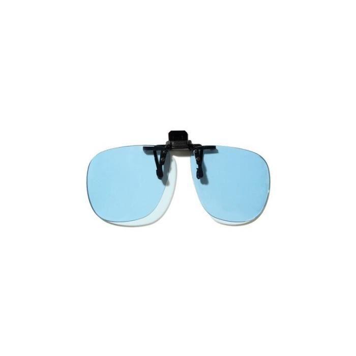 LUNETTES LUMIERE BLEUE Sur-lunettes anti-fatigue spéciales écrans à clips 8d7b027c5d3c