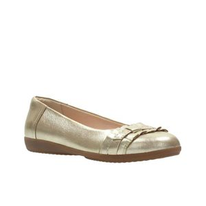 Loafers Feya 37 I60H7 Moccasins Clarks Women's Taille Island And 1 2 Leather fwWTHqI