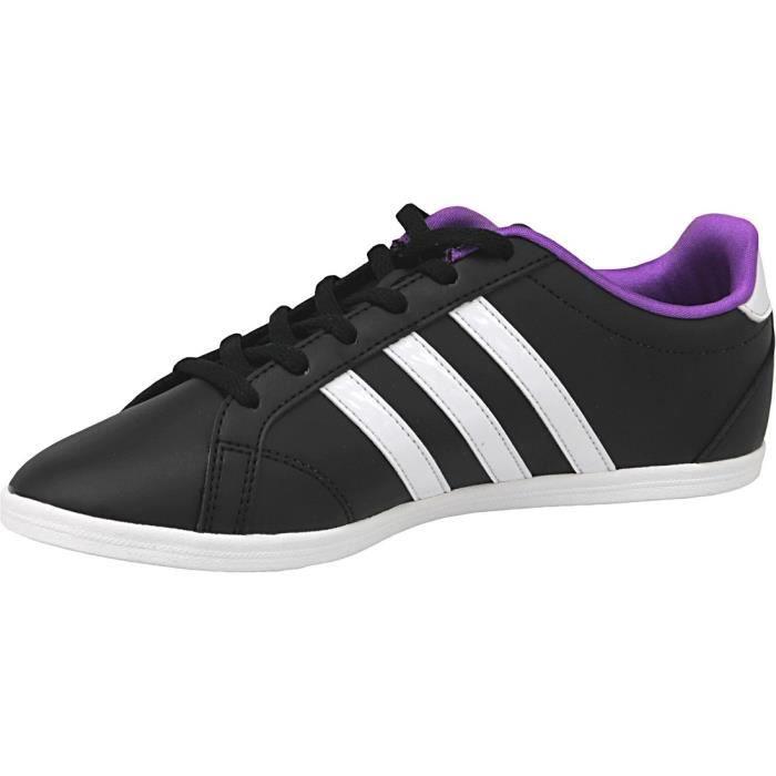 Femme Qt B74551 Vs Baskets Noir Coneo Adidas W blanc IWEDe9YbH2