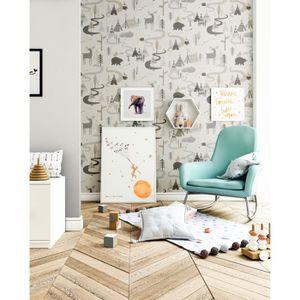 papier peint enfant achat vente papier peint enfant pas cher soldes d s le 10 janvier. Black Bedroom Furniture Sets. Home Design Ideas