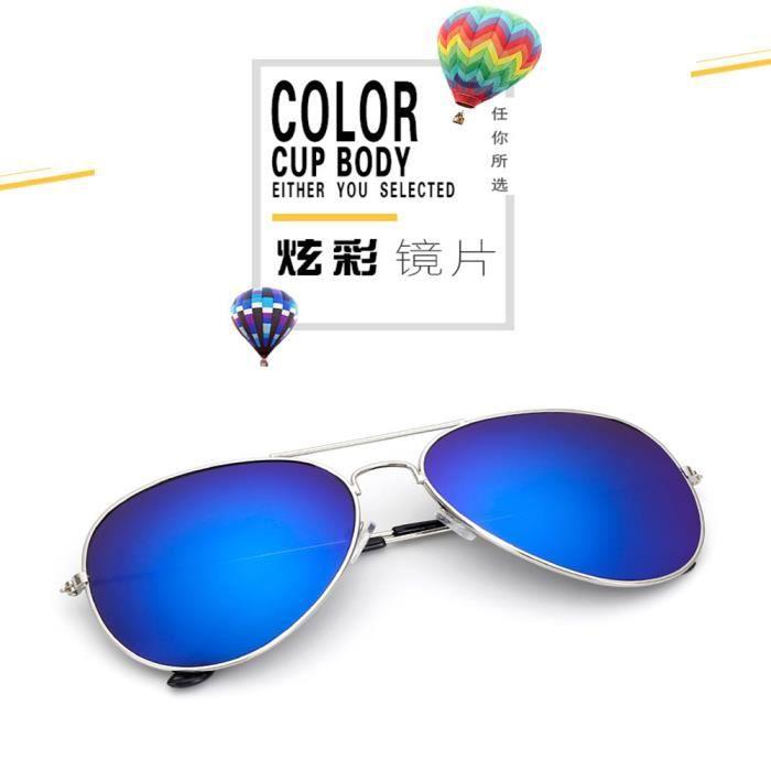 Lunettes de soleil mixte homme et femme Fashion de Métal Cadre sunglasses marque de Luxe Golden/Rose