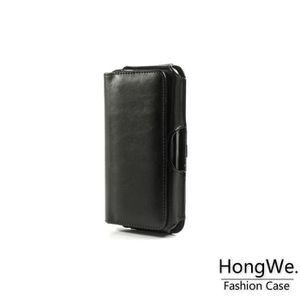 HOUSSE - ÉTUI Etui Ceinture iPhone 6S Plus Cuir Noir Amahousse 58d82e9e256