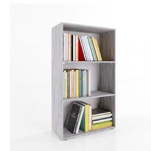 bibliotheque largeur 60 cm achat vente pas cher. Black Bedroom Furniture Sets. Home Design Ideas