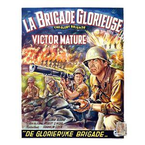 AFFICHE - POSTER BRIGADE GLORIEUSE (LA) reproduction affiche de cin