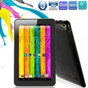 TABLETTE TACTILE Tablette Tactile 9 pouces Androïd 4.4 Bluetooth Qu