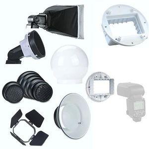 FILTRE - REFLECTEUR 7 en 1 Flash Diffuseur Kit pour Flash Cobra Griffe