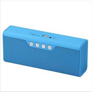ENCEINTES ete Enceintes bleu bleutooth fm radio haut-parleur