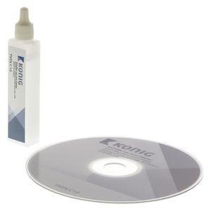 NETTOYAGE TV-VIDEO-SON KÖNIG DVD & Blu-ray Nettoyant pour Optique Disque