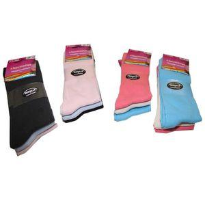 CHAUSSETTES 2 Lots de 3 paires de Chaussettes Femme Coton rema