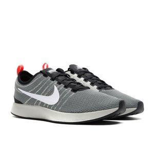 Basket mode - Sneakers NIKE Dualtone Racer Noir Blanc 918227002 X92Q1