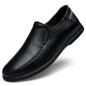 Men's Leather Business Casual Shoes PKBLM Taille-42 ZU8nfr1M
