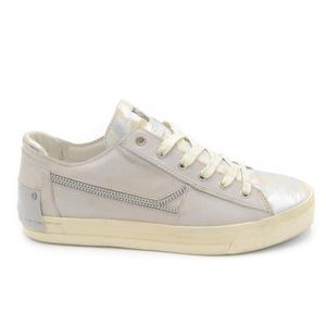 Chaussures De Sport Pour Les Femmes En Vente, Blanc, Cuir, 2017, 36 40 Crime Londres