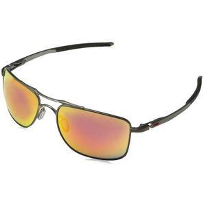 LUNETTES DE SOLEIL Oakley Lunettes de soleil rectangulaires Iridium ... 83ad1facf4ee