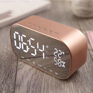 Radio réveil Radio réveil Haut-parleur Bluetooth Thermomètre au