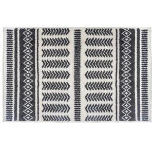 TAPIS Tapis ethnique à rayures - 120 x 170 cm
