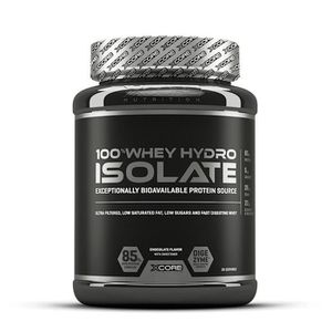 PROTÉINE Xcore - 100% Whey Hydro Isolate SS 900 g - Chocola