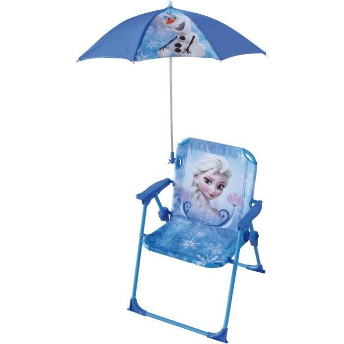 LA REINE DES NEIGES - Chaise Parasol