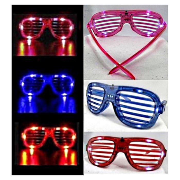 Lunettes deguisement lumineux - Achat   Vente jeux et jouets pas chers bd01c3e63da9